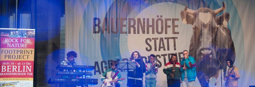 Demo in Berlin für mehr Tierwohl