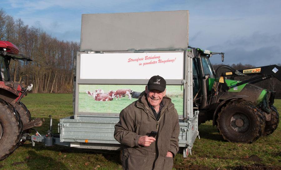 Mobile Schlachtbox von Ernst Hermann Maier