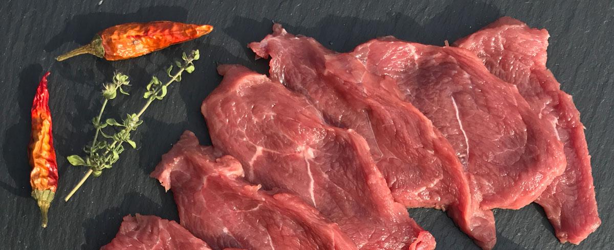 Fleisch vom Heiderind